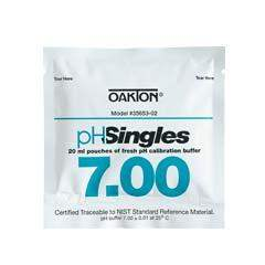 Oakton (WD-35653-02) pH 7.00 Pouches 20-Box