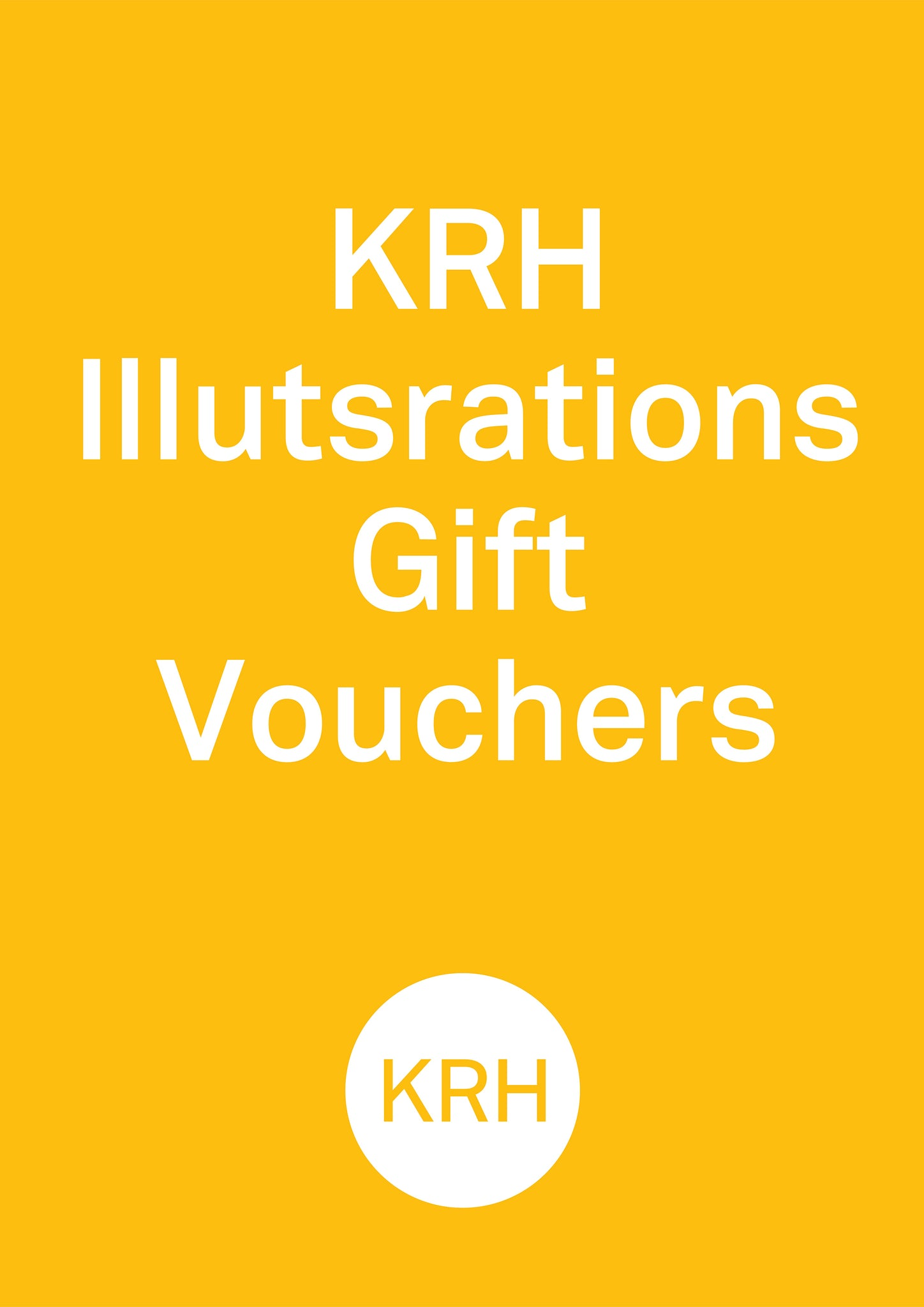 KRH Illustrates Gift Card
