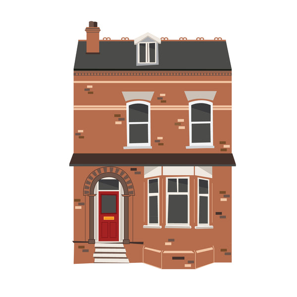 Bespoke House Illustration