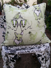 Tobyboo Willow Linen Cushion Cover