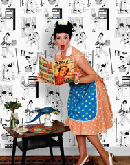 50's Housewives Wallpaper