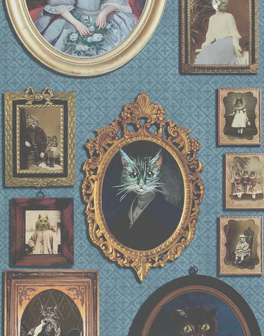 A Cavalcade of Cats, Blue