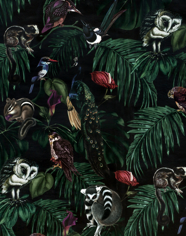 Amazonia Dark Wallpaper