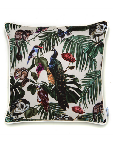 Amazonia Light Small Cotton Cushion