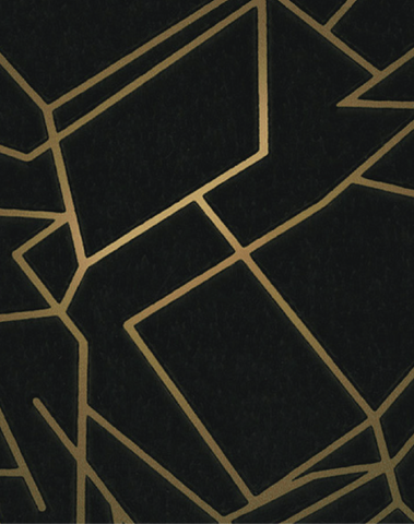 Angles, Gold & Black