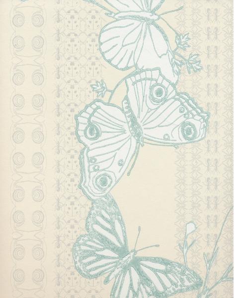 Bugs & Butterflies, Ice Blue