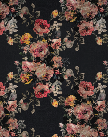 Bloom Garden, Black