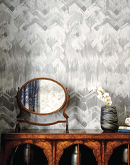 Brushed Herringbone, Grey