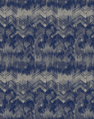Brushed Herringbone, Blue