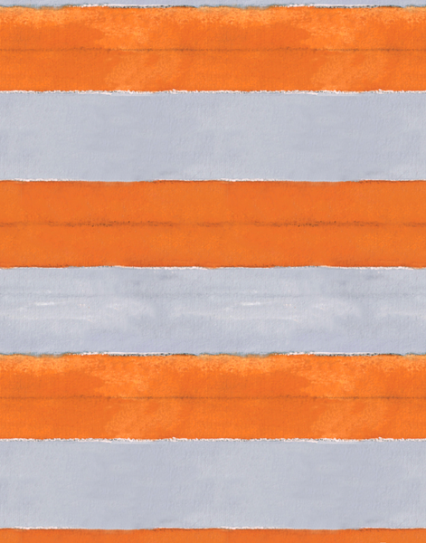 Cabana Stripe No 10, Orange