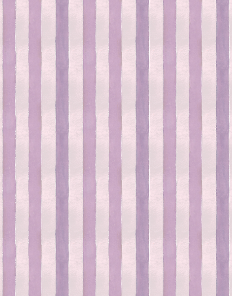 Cabana Stripe No. 5, Plum