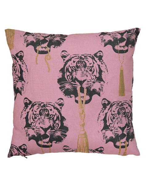 Coco Tiger Pink Cushion Cover