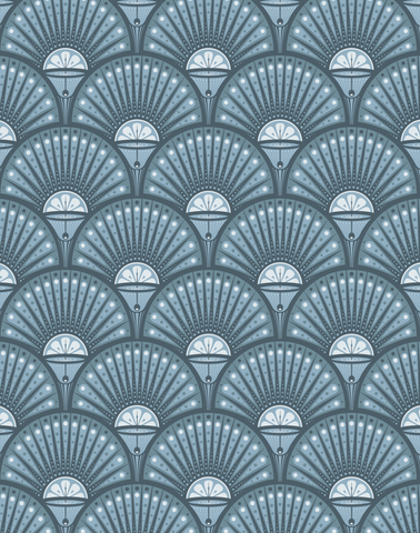 Deco Martini, Powder Blue