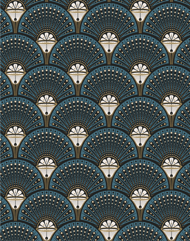 Deco Martini, Teal