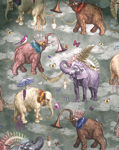 Elephants March, Viridian