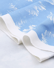 Clouds Fabric, Cloud Blue