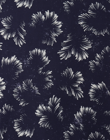 Clouds Fabric, Midnight