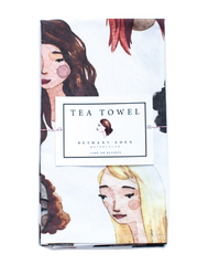 Bethany Eden Faces Tea Towel