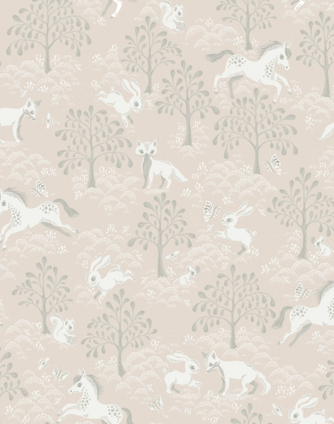 Fairytale Fox, Dusty Pink