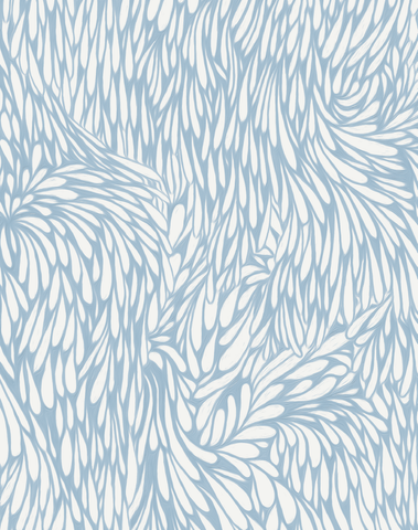 Feather, Baby Blue