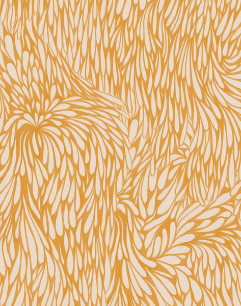 Feather, Saffron