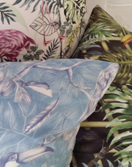 Charlotte Jade Feathers Cushion Cover