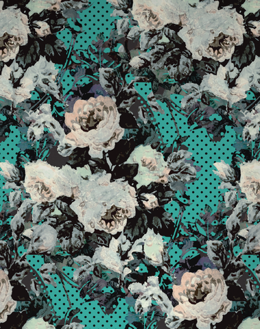 Full Bloom, Teal