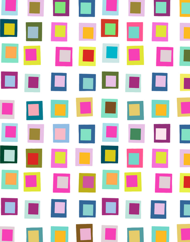 Funky Squares, Multicolor