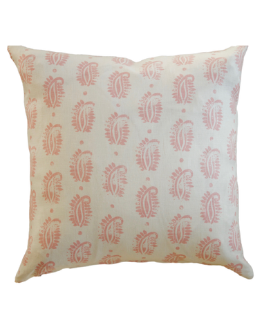 Glass Anatomy Cushion Cover, Vintage Pink