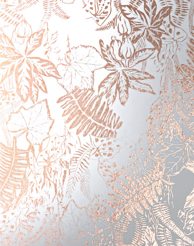 Hothouse, Copper Rose & White