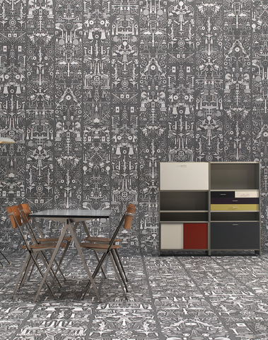 JOB-01 Industry Archives Wallpaper by Studio Job