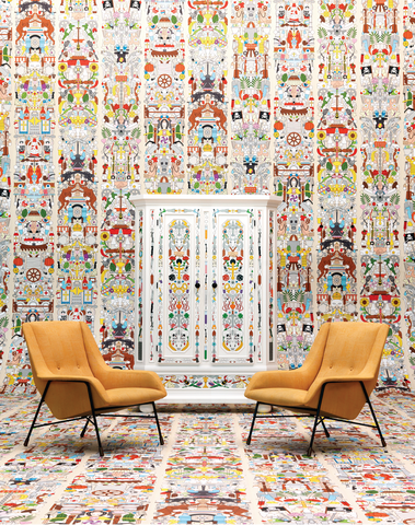 JOB-04 Alt Deutsch Archives Wallpaper by Studio Job