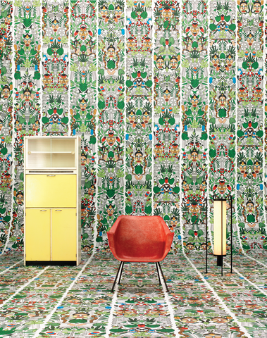 JOB-05 L'Afrique Archives Wallpaper by Studio Job