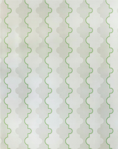 Jigsaw Stripe, Green