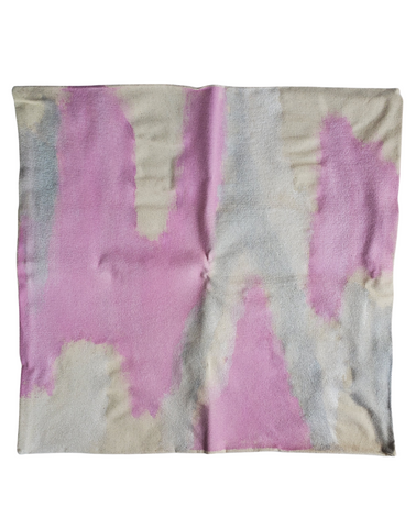 Julie Kay Hand Painted Watercolor Pillow Cover, Blush Shimmer