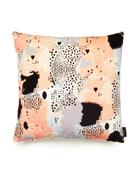17 Patterns Leopard Love Cushion