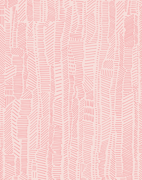 Linear Field, Powder Pink