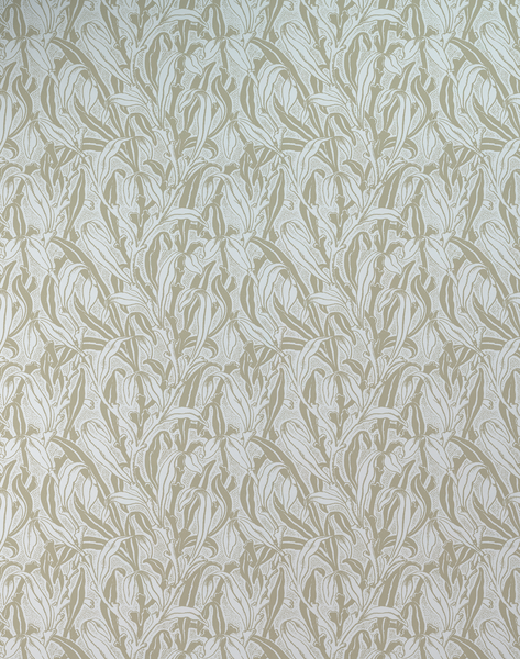MRV-11, Monochrome Leaves Beige by Mr & Mrs Vintage