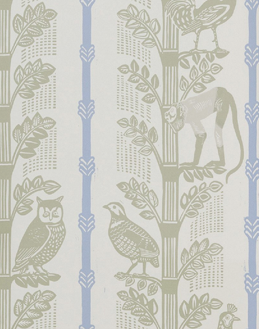 Monkeys & Birds, Artichoke/Blue Jay