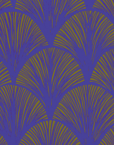 Orchid Scales, Iris Blue