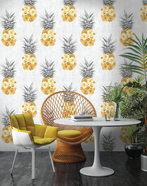 Floral Pineapple