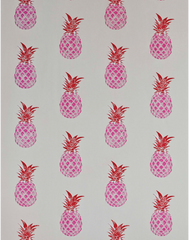 Pineapple, Red/Pink