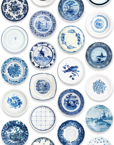 Porcelain, Blue