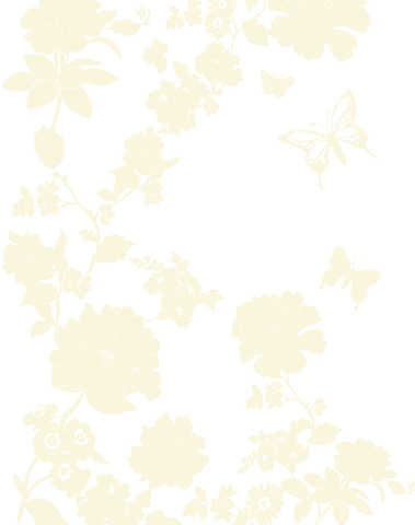 Pretty Flower, Antique Cream