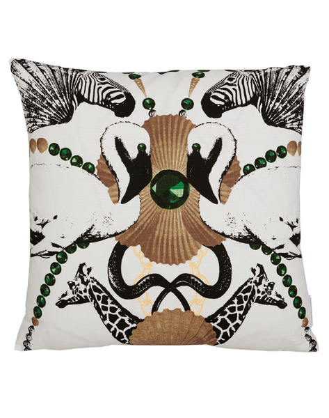 Safari Club Big Pattern Cushion Cover