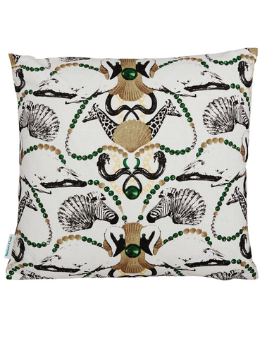 Safari Club Small Pattern Cushion Cover