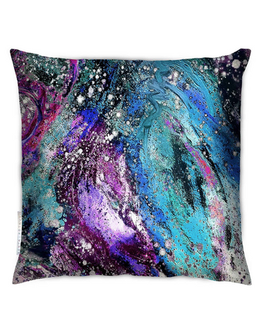 LIMITED EDITION Sonya Rothwell Rapture Cushion, Violet Noir