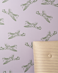 Spitfires in Lilac