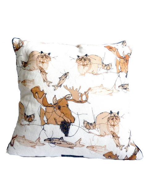 Tobyboo Stanley Linen Cushion Cover