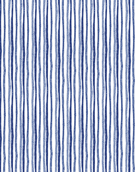 Stripes, Ballpoint Pen on Paper